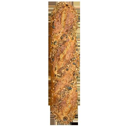Kürbisbaguette